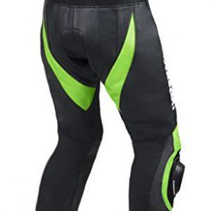 Kawasaki Moto pantalones de cuero (L (EU52-54))