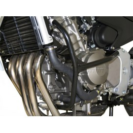 Protecciones de motor negro. honda cb 600 f (98-06) cb 600 s (99-06)