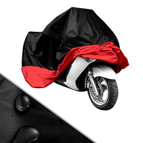 Funda Protectora y Cubierta para Motocicleta Colores Negro y Rojo