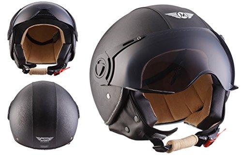 MOTO H44 Leather Black