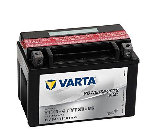 Batería de moto Varta YTX9-BS 12V 8Ah