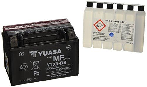 Baterías para Moto Yuasa YTX9-BS 12V 8Ah