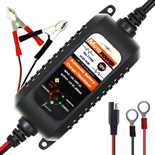 Motopower 12V 800mA cargador / Mantenedor de batería Automático