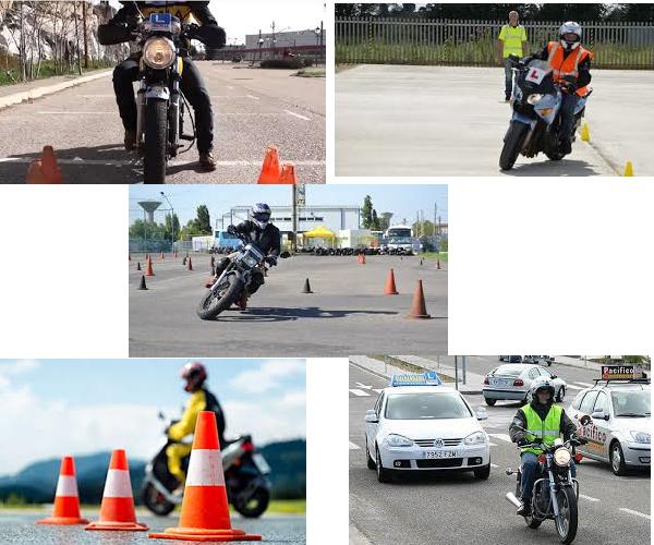 Sacar el carnet de moto en españa