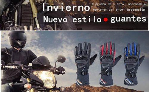guantes de moto táctiles y baratos para invierno