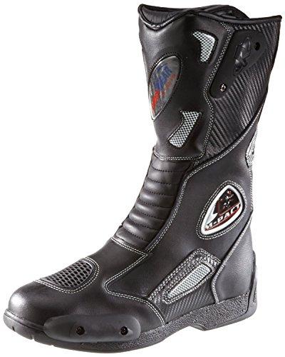Botas para Moto Deportivas Cuero Impermeable
