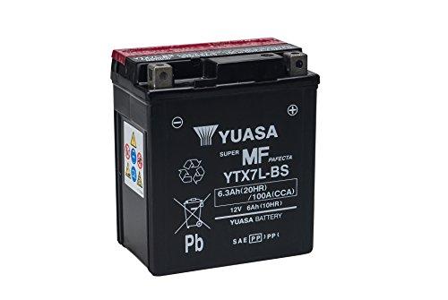 Batería para Moto Yuasa YTX7L-BS 12V 6Ah