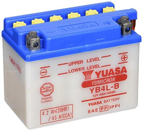 Baterías de Moto Yuasa YB4L-B 12V - 4Ah