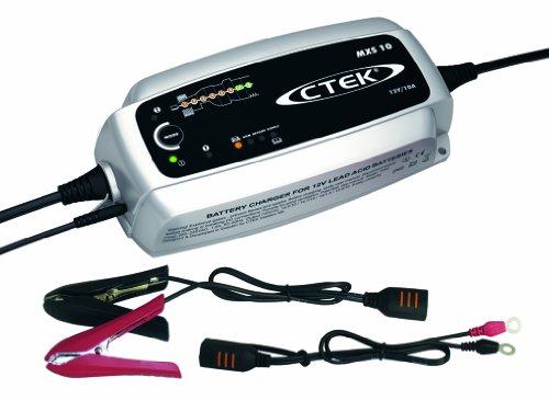 Cargador de baterías Moto 10A CTEK 56-708 MXS