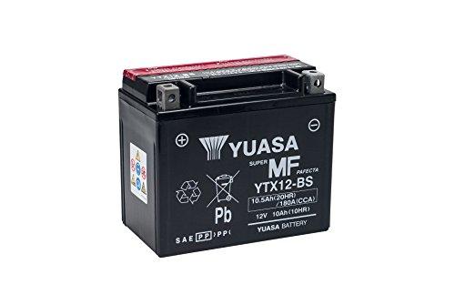 Batería Moto Yuasa YTX12-BS 12V 10Ah