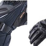 Guantes de moto táctiles para invierno, viento y lluvia Iron Jias