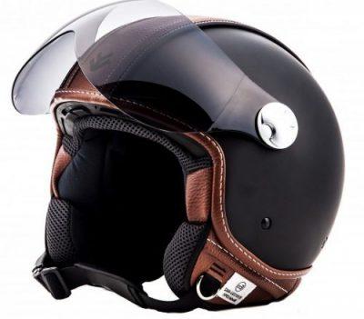 casco de moto retro jet av84