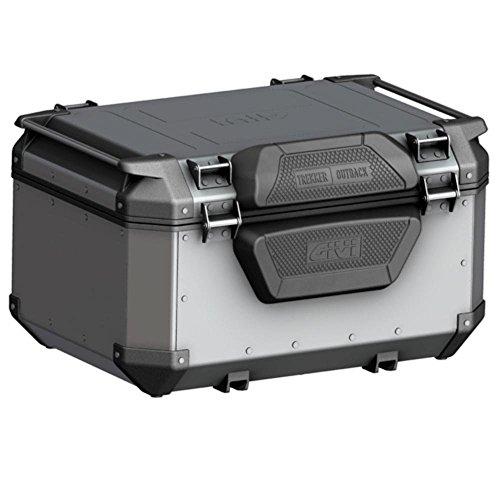 Baúl de aluminio para moto con respaldo Trekker Outback Obk58A