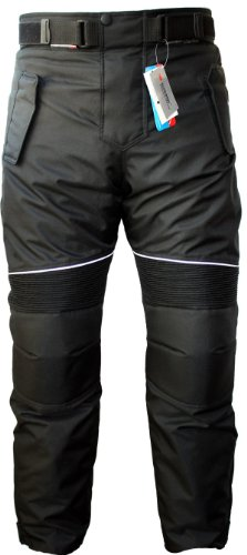 Pantalones negros para moto marca German Wear