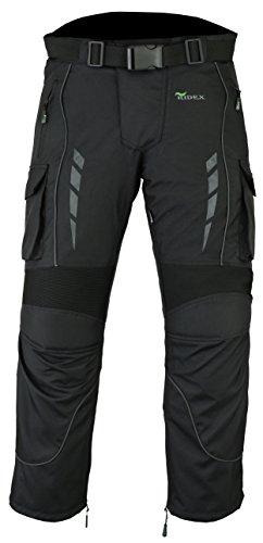Pantalones térmicos impermeables blindados de motociclista Ridex